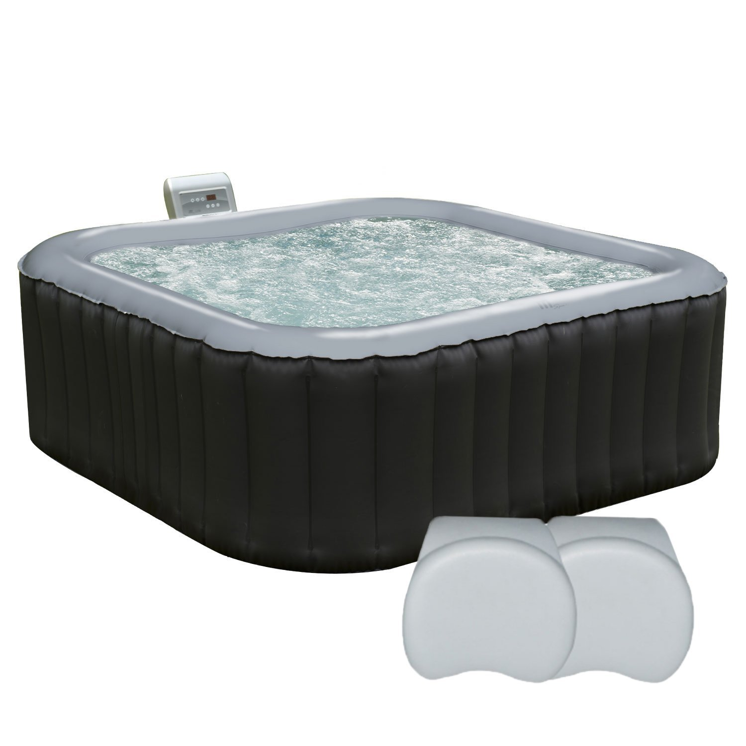 Spa gonflable comparatif de spa et de jacuzzi gonflable - Spa exterieur 4 places ...